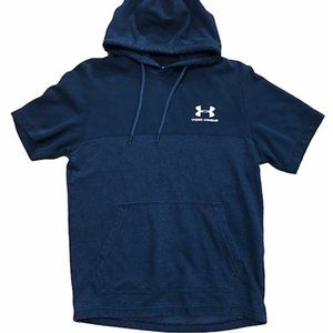 Under Armour Men's Small Short Sleeve Hooded Shirt